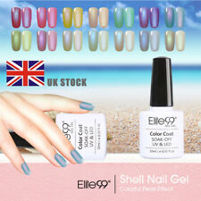 Elite99 Shell Gel Polish Soak Off Pearl UV LED Top Base Manicure Nail Varnish