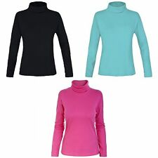 Trespass Childrens Girls Jamie Long Sleeve Ski Polo Neck Top