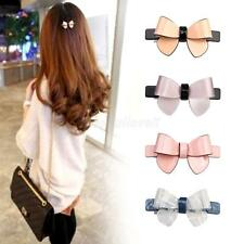 Fashion Women Girls Bling Headwear Butterfly Hair Clip Barrette Hairpin Clamp