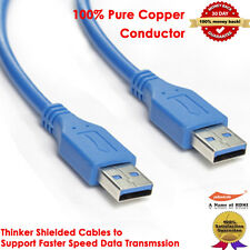 Super High Speed USB 3.0 Cable Type AMAM Male Extension Data Cable Hard Disk 3ft