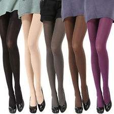 Women Ladies Opaque Pantyhose Velvet Coloured Tights Stockings Multi Colors