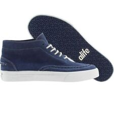 $120 Alife Public Estate Mid Suede (navy)  fashion sneakers sz 9.5 10 12