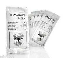 Polaroid 2x3 inch ZINK Photo Paper for PoGo Printer and Snap Camera