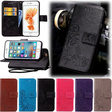 NEW Retro Flower Pattern PU Leather Wallet Card Stand Case Cover For iphone