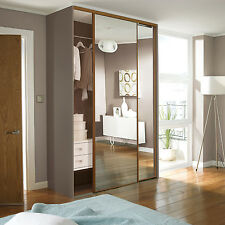 3 Heritage SOFT CLOSE Made to Measure Sliding Wardrobe Doors (2743-3540mm wide)