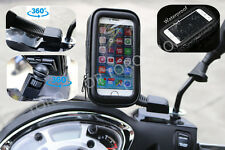 Motorcycle Bike Universal Mobile Phone Note Holder Iphone Samsung HTC Nokia Sony