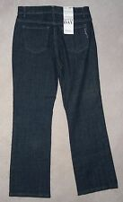 NWT Womens STYLE & CO. Brown Blue STRETCH DENIM JEANS 10P 8P 12 10 Leg28 or 30