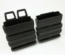 FAST ATTACH MOLLE AIRSOFT RIFLE MAG DOUBLE MAGAZINE POUCH 7.62 AMMO POUCH-0264