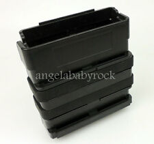 BLACK FAST ATTACH MOLLE AIRSOFT RIFLE MAG MAGAZINE POUCH 7.62 AMMO POUCH-0266