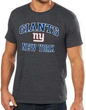 New York Giants Majestic NFL Heart & Soul III Charcoal Men's T-Shirt