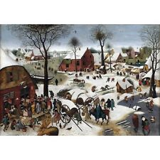 1610 Pieter Bruegel The Younger Census At Bethlehem Christian Painting Poster