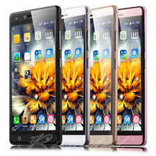"5.0"" Unlocked Mobile Phone Quad Core 3G GSM Dual SIM Android 6.0 Smartphone GPS"