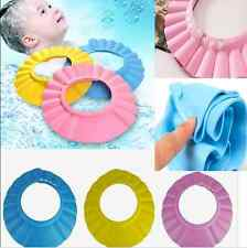 Adjust Safe Soft Baby Kids Shampoo Bath Bathing Shower Cap Hat Wash Hair Shield