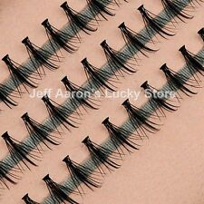 Natural look false eyelashes individual fake eye lashes extension beauty make up