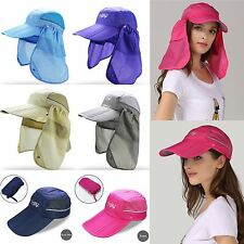 Fashion Sport Fishing Hiking Hat UV Protection Face Neck Flap Outdoor Sun Cap MS