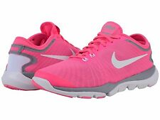 NIKE FLEX SUPREME TR4 PINK BLAST WHITE WOMENS 2016 TRAINING SHOES  **ALL SIZES