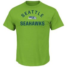 """Seattle Seahawks Majestic NFL """"For All Time"""" Men's Short Sleeve T-Shirt"""