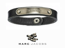NEW Marc Jacobs Latin INTER NOS Leather Bracelet Small & Large RARE