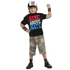 Child TV WWE Wrestling John Cena Rise Above Hate Muscle Chest Wrestler Costume