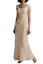 Elegant Women's Chiffon Bridesmaid Dresses Long Mother of the Bride Dresses