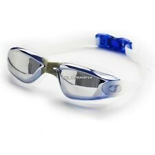 Electroplating Anti-fog Swimming Goggles Water-proof Swim Myopia Glasses K2