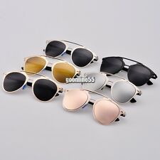 Sunglasses Dual Horizontal Beam Eyewear Retro Women Full Frame Vintage EA9