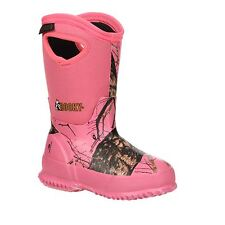 Rocky Kids Rocky Core Adolescent Girls Pink Camo Waterproof Insulated