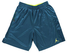 Nike Jordan Mens Go Two Three Basketball Shorts Turquoise