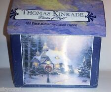 Thomas Kinkade Stonehearth Hutch 100 Piece Miniature Jigsaw Puzzle, NEW