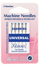 Sewing Machine Needles by Hemline - Various Sizes and Types Assorted - Free P&P