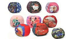 Disney Character Kids Round Bean Bag Chair - Toddlers, Filled in USA