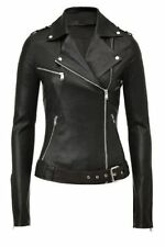 NEW Womens 100% Leather Lambskin Jacket Coat, Made to your Measurements - WJ5