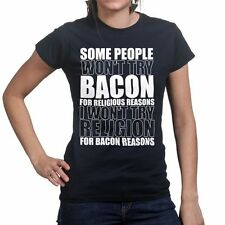 Bacon Strips Religion Baconstrips Epic Meal Funny Womens T shirt