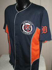 MLB Detroit Tigers Crosstown Rivalry Baseball Jersey Mens Size Majestic   Nwt