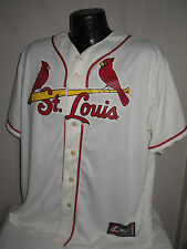MLB St Louis Cardinals Baseball Jersey Mens Sizes Majestic with Laundry Tag New