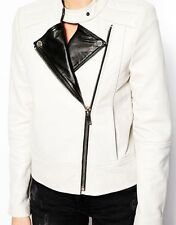 NEW Womens 100% Leather Lambskin Jacket Coat, Made to your Measurements - WJ34