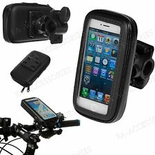 Rain Water Proof Bicycle Bike Handlebar Mount Holder Case For Many Mobile Phones