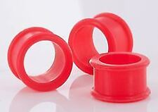 "RED Flexible Wholesale Silicone Earlets Painful Pleasures 6g-1"" - Price Per 1"