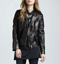 NEW Womens 100% Leather Lambskin Jacket Coat, Made to your Measurements - WJ89