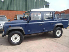 Land Rover 110 Defender 2.4TDi Double Cab one owner 2010