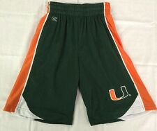 Youth Colosseum Miami Hurricanes  Mesh Shorts – Green New Without Tags