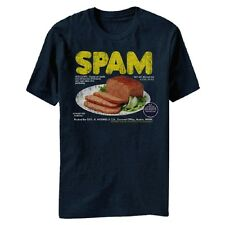 Vintage Canned Hormel can of Spam meat food Plate Adult T-Shirt Tee