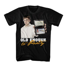 Superbad Comedy Movie Old Enough to Party Mclovin Adult T-Shirt Tee
