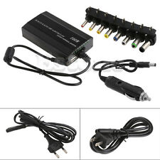 For Laptop In Car DC 12V Charger Notebook AC Adapter Power Supply 100W Universal