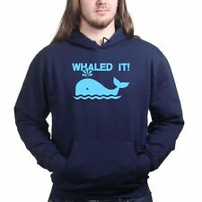 Whaled Nailed It Sweatshirt Hoodie - Funny Slogan Humour Gift Present