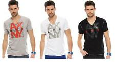 New Armani Exchange A|X Mens Slim/Muscle Fit AXNY V-neck Tee Shirt
