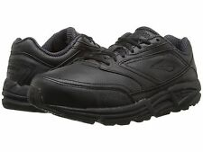 BROOKS ADDICTION WALKER BLACK MENS  CASUAL WALKING SHOES ** ALL SIZES