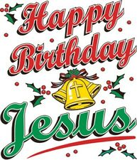 Happy Birthday Jesus Shirt, Religious Christmas Shirt, Christian, Sm - 5X