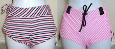 NWT Genuine ROXY striped hot pant boy/board swim shorts,M,L