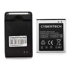 Wall Charger & Battery for Samsung Galaxy S2 II SGH-T989 Hercules T-Mobile [LOT]
